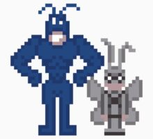 The Tick + Arthur by inapixel