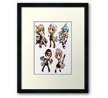#5 Framed Print