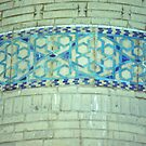 Detail, minaret decoration, by cascoly