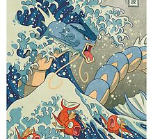 THE GREAT WAVE OFF KANAGAWA POKEMON by gtboys