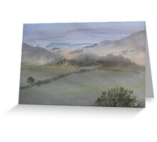 Yorkshire Mist Greeting Card