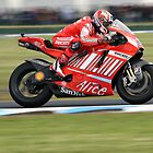 Casey Stoner, Phillip Island Motogp 2007 by Anthony Edwards