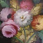 JACOBEAN FLORAL PAINTING by dmsquare