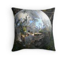 Weathered Globe Throw Pillow