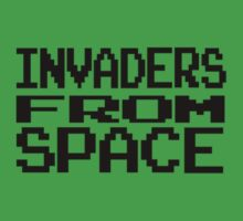 Space Invaders by elizabethrose05