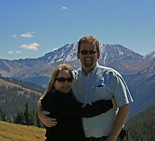 Me and my wife at Independence Pass Colorado by jdkerby