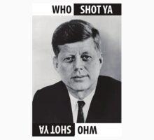 JFK Who Shot Ya Kids Clothes
