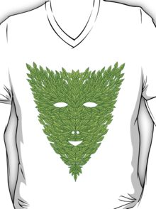Green Man Mask T-Shirt