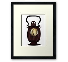 Do you take on the task of lantern bearer? Framed Print