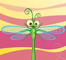Critterz - Dragonfly 3 by Kat Massard