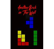 Another Brick in the Tetris Wall Photographic Print