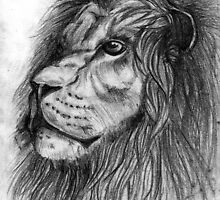 Lion ..or were-lion  -bad thumb- by ShAzAnAzAmAn