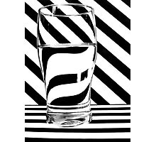 Zebra Juice No1 Photographic Print