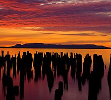 Sleeping Giant Sunrise by Ian Benninghaus
