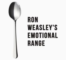 You've got the emotional range of a teaspoon! by hahahahaleigh