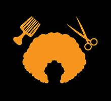 AFRO Hairdresser stylist by jazzydevil