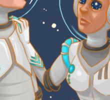 Starry-eyed Optimists  Sticker