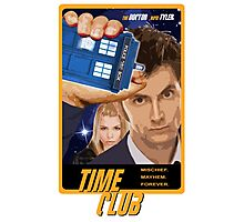 Time Club | Doctor Who | The Tenth Doctor & Rose Tyler Photographic Print