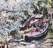 Disneyland's Jungle Cruise  by whitneymicaela
