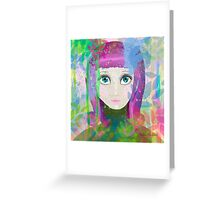 Colour me Lovely Greeting Card