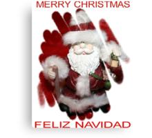 CHRISTMAS CARD 1 Canvas Print