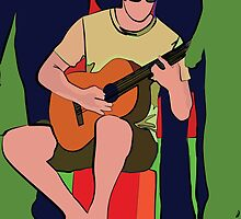 Guitarist by nannyannie