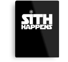 Sith Happens Metal Print