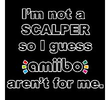 Amiibo - I'm not a scalper so I guess Amiibo aren't for me Photographic Print