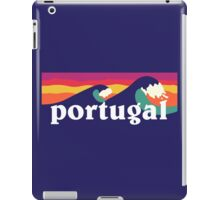 Portugal Surfing Waves iPad Case/Skin