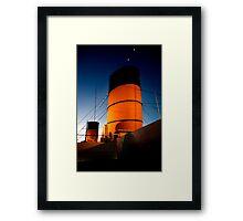 Epic Voyage Framed Print
