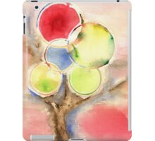 Abstract Tree Watercolors iPad Case/Skin