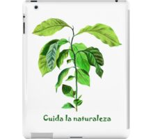 Take care of the nature iPad Case/Skin