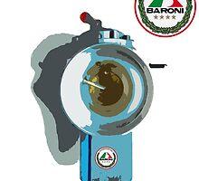 Baroni Carburetor 2 Stroke Art by harrisonformula