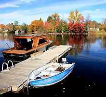 Boats at Huntsville by Dave Law