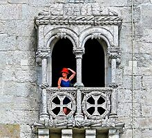 Belém Lady with a red hat by terezadelpilar~ art & architecture