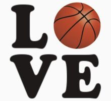 Love Basketball Kids Clothes