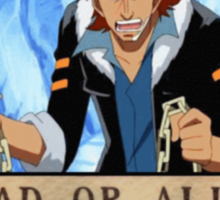 Wanted Puzzle - One Piece Sticker