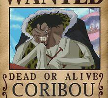 Wanted Coribou - One Piece by yass-92
