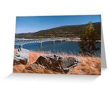 Lake Koocanusa Greeting Card