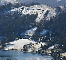 Grasmere Glistens - Lake District by Rod Unwin