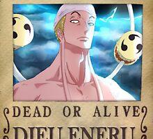 Wanted Eneru - One Piece by yass-92