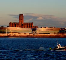 Liverpool's Echo Arena by Paul Reay