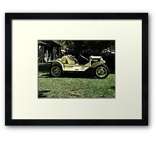 YELLOW FORD PRE 1915 Framed Print
