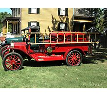 1915 FORD FIRE TRUCK Photographic Print