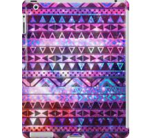 Girly Andes Aztec Pattern Pink Teal Nebula Galaxy iPad Case/Skin