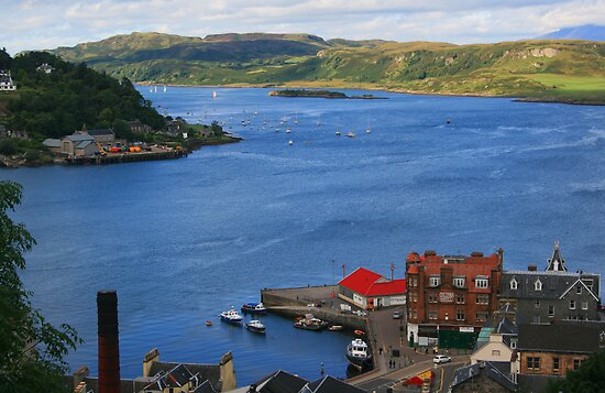 Oban Bay & Kerrera by RedHillDigital