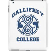 Gallifrey College iPad Case/Skin