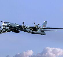 """Tupolev Tu-95MS """"Bear H"""" Black 23 by Colin Smedley"""