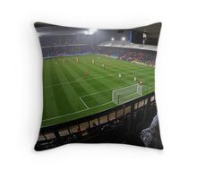 Fisheye View of the Crystal Palace Stadium Throw Pillow