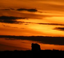 Dolmen Sunset by Gary  Collins